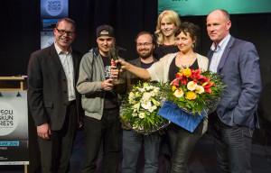 Leipziger Bewegungskunstpreis 2015Preisverleihung im LOFFT am 06.02.2016